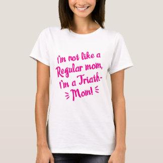 Triath-Mamma rosa T-Stück T-Shirt