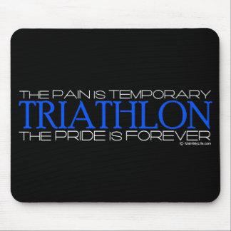 Triathlon - der Stolz ist Forever Mousepad