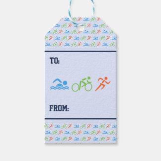 Triathlonmustersport - themenorientiert geschenkanhänger