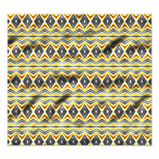 Tribal crumpled pattern art photo
