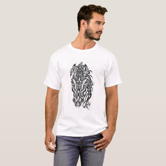 Tribalized Pferd T-Shirt