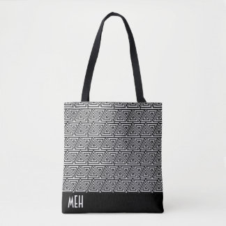 Tribangled Minderjährig-Monogramm Tasche