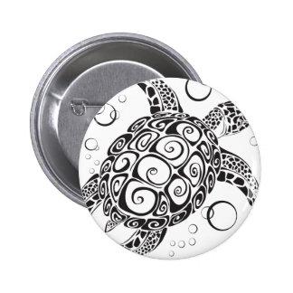Trible Tätowierung Runder Button 5,7 Cm