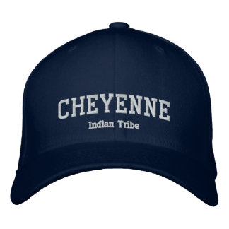 Tribu d'Indien de Cheyenne Chapeaux Brodés