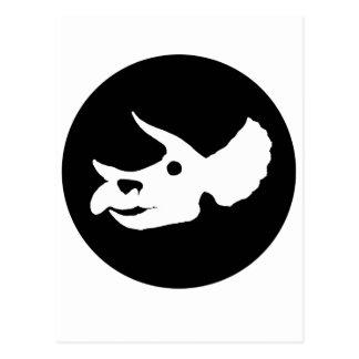 Triceratops-Schädel Postkarte
