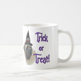 Trick des Mastiff-(Kitz) Kaffeetasse