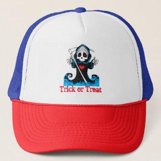 Trick-oder Leckerei-Fernlastfahrer-Hut Truckerkappe