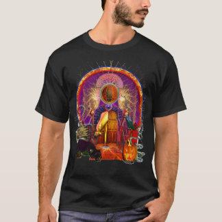 Trick-oder Leckerei-Geist-Tür T-Shirt