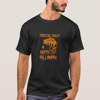 Trick-oder Leckerei-glückliches T-Shirt