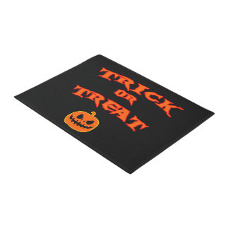 Trick-oder Leckerei-Halloween-Fußmatte Türmatte