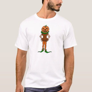 Trick oder Leckerei Jackolanternman T-Shirt