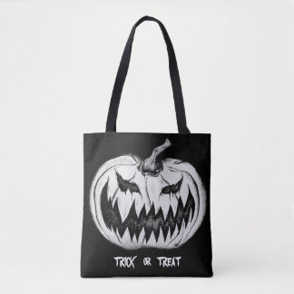 Trick-oder Leckerei-Kürbis-Taschen-Tasche