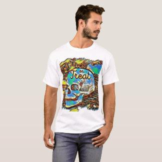 Trick- oder Leckereischädel-Shirt T-Shirt