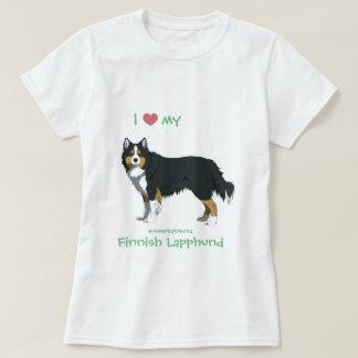 tricolor Finnish Lapphund shirt -lapinkoira