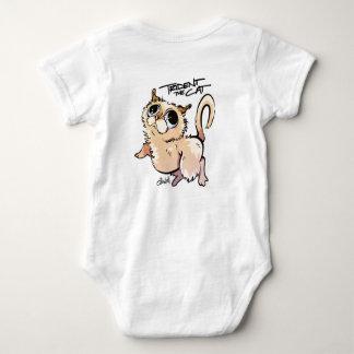 Trident der Katzen-Unisexbaby-Overall Baby Strampler