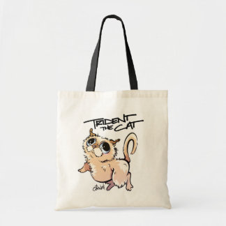 Trident die Katzen-Charakter-Tasche 01 Budget Stoffbeutel