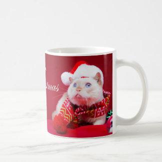 Trident die Katzen-Weihnachtskaffee-Tasse Kaffeetasse