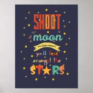 Trieb für den Mond Poster