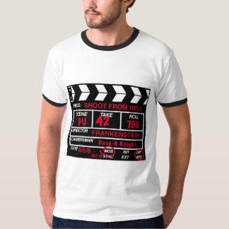 Trieb vom Höllen-Kamera-Schiefer-T - Shirt