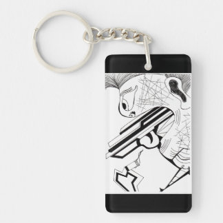 Triggermann Schlüsselanhänger