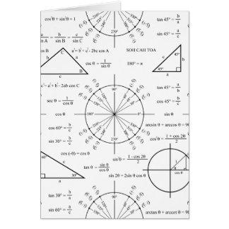 Triglyzerid u. Dreiecke Karte