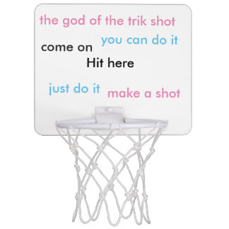 trik Schuss Mini Basketball Ring