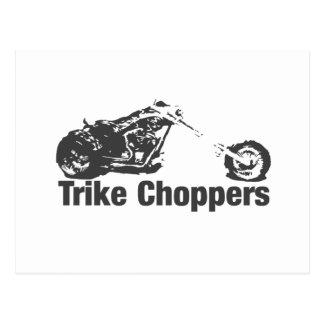 trike Chopper Postkarte