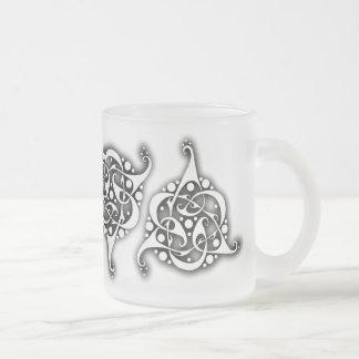 TriLink Celtic-Knoten Mattglastasse
