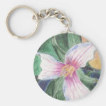 Trillium peint ! porte-clés
