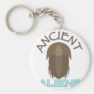 Trilobite alte Außerirdische Schlüsselanhänger