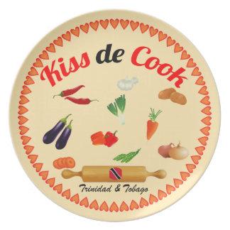 Trinidad- u. Tobago-Kuss de Cook Essteller