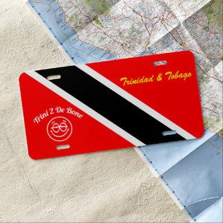 Trinidad und Tobago US Nummernschild