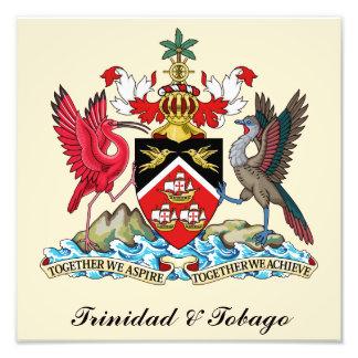 Trinidad und Tobago-Wappen Fotodruck