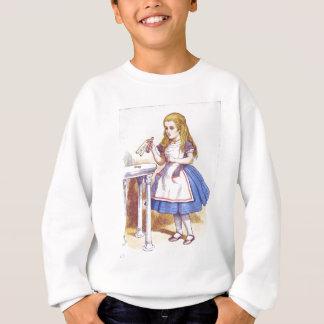 Trinken Sie mich, Alice! Sweatshirt