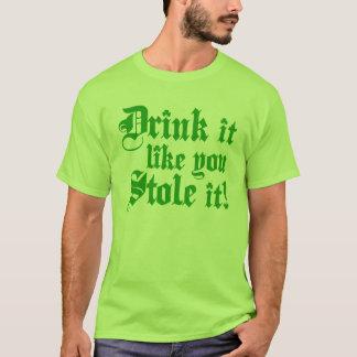 Trinkender Spaß St. Patricks Tages T-Shirt