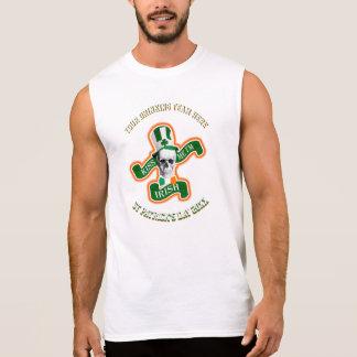 Trinkendes Team personalisierter lustiger St. Ärmelloses Shirt