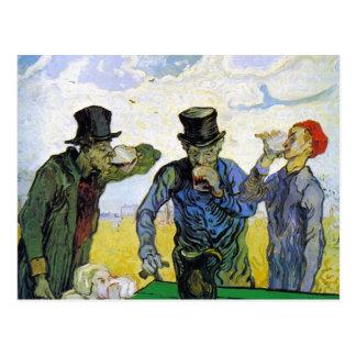 Trinker durch Vincent van Gogh Postkarte