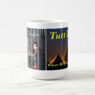 Trio in der Problem-Tasse Tasse