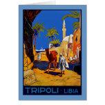 Tripoli - Libia (Libyen) Grußkarte