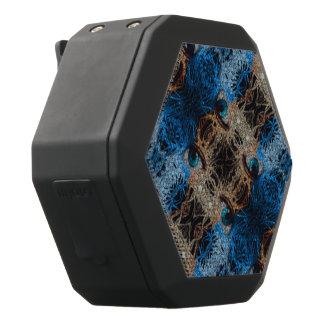 Trippy blaues Auge abstrakt Schwarze Bluetooth Lautsprecher