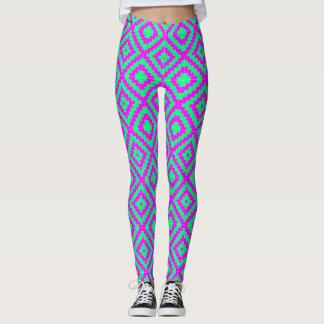 Trippy Hippie-Gamaschen Leggings