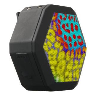 Trippy Leuchtstoff abstrakte Beschaffenheit Schwarze Bluetooth Lautsprecher