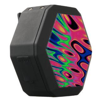 Trippy Leuchtstoffrotationen Schwarze Bluetooth Lautsprecher