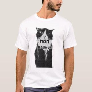 Trippy T-Shirts: Nicht sequitur Katzent-shirt T-Shirt
