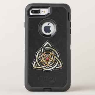 Triquetra Pentagramm OtterBox Defender iPhone 8 Plus/7 Plus Hülle