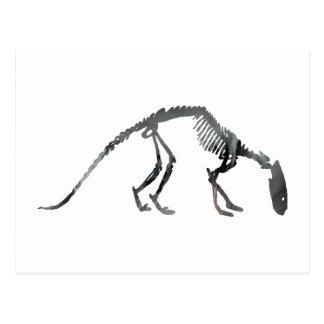 tritemnodon Skelett Postkarten