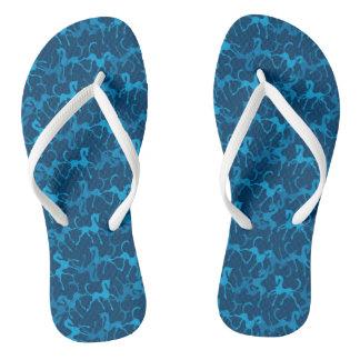 Tritty Foxtrotter Blau Flip Flops