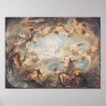 Triumph du cupidon au-dessus de tous les dieux, 17 poster