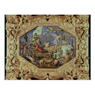 Triumph von Louis XIII über Feinden Postkarte