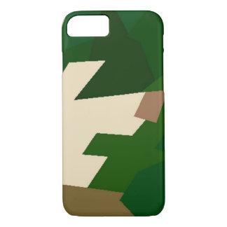 Trockene Tundra-Camouflage iPhone 7 Hülle